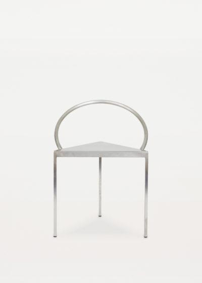 Steel 'Triangolo' chair by Frama