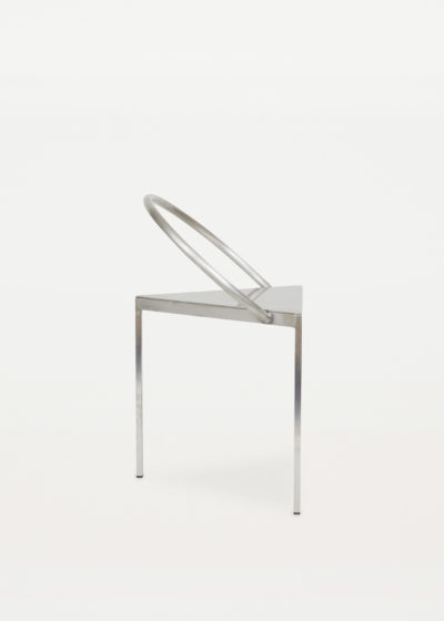 Steel 'Triangolo' chair by Frama