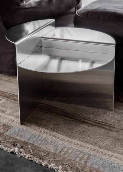 Rivet side table by Frama