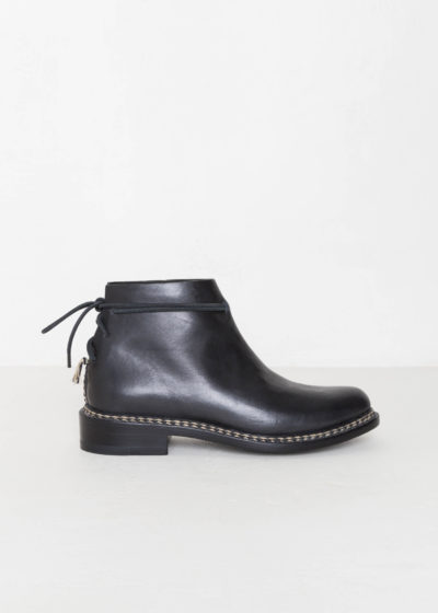 Braided wrap boot by Feit