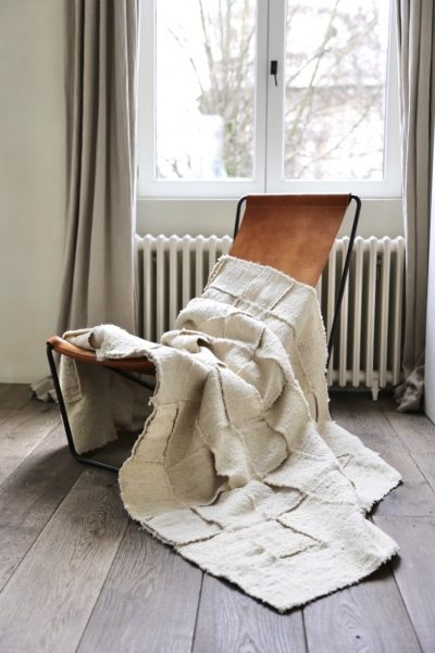 Large patchwork rug by Que Onda Vos