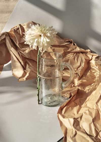 Cracked water pitcher by Que Onda Vos