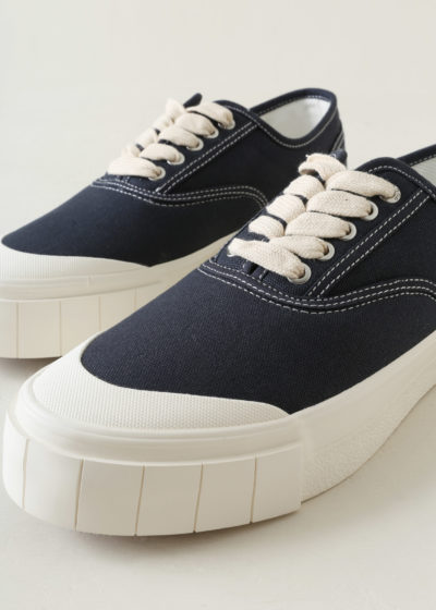 Men's 'Ace' sneakers in navy by Good News
