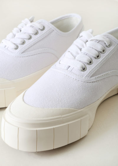 Men's 'Ace' sneaker in white by Good News