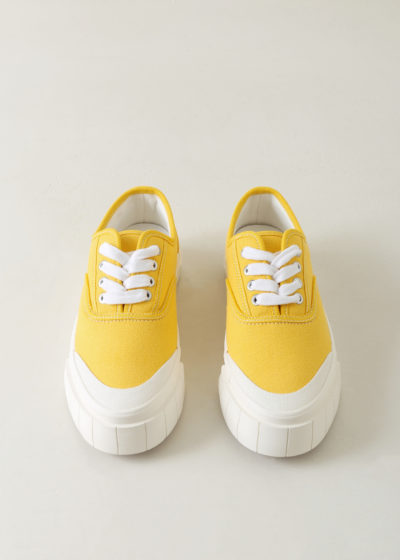 'Ace' sneaker in yellow by Good News