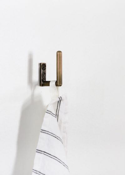 Towel hook by illus