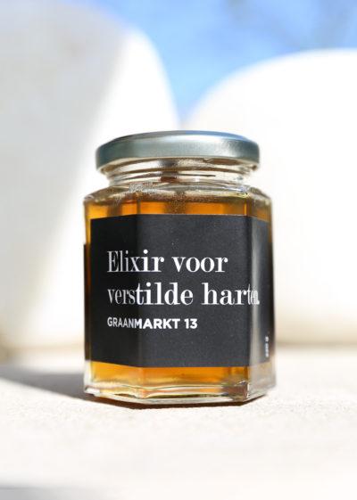 City Honey from our rooftop garden by Graanmarkt 13