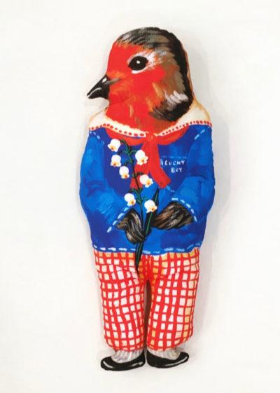 'My Lucky Boy' bird doll by Nathalie Lété x Design Farm Productions