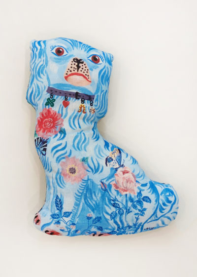 Cheshire dogs (available in brown & blue) by Nathalie Lété x Design Farm Productions