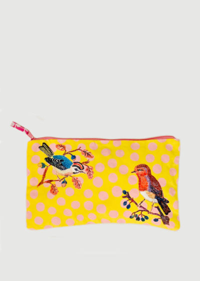 Canvas pouch (available in 2 prints) by Nathalie Lété x Design Farm Productions