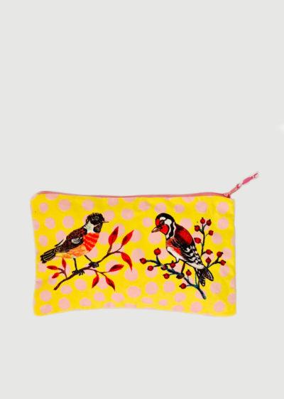 Canvas pouch (available in 2 prints) by Nathalie Lété x Design Farm Productions