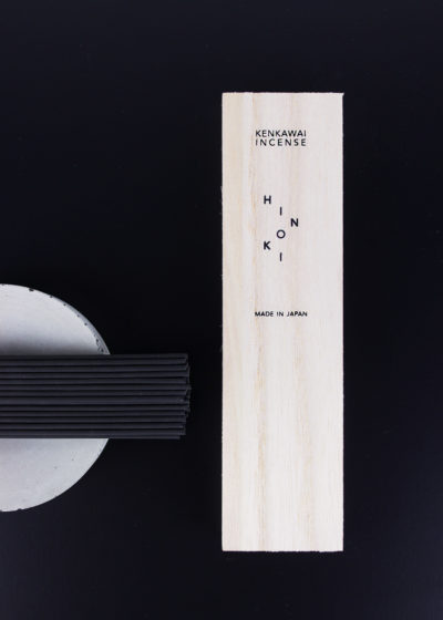 Sandalwood charcoal incense by Kenkawai