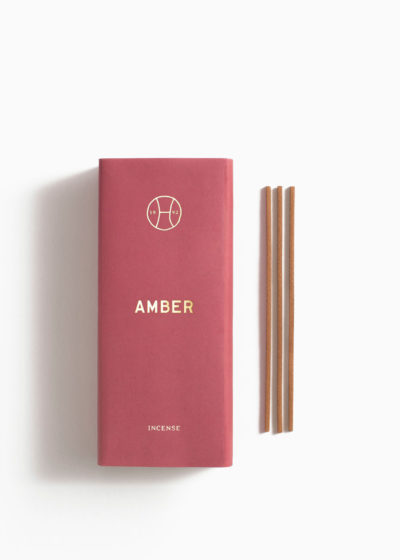 'Amber' Incense Sticks by Perfumer H