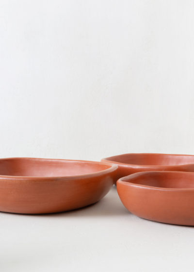 Terracotta oven dish L34,5cm by Indigena
