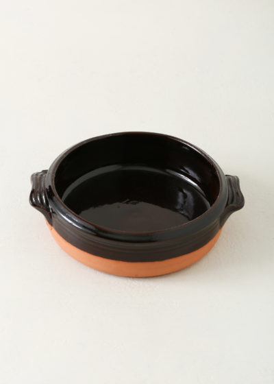 Round oven dish