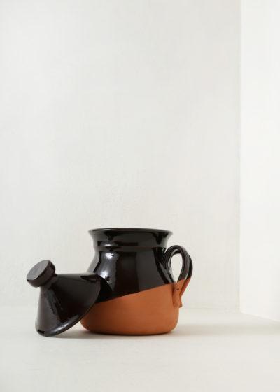 Vegetable carafe fire pan (medium) by Vincenzo Del Monaco
