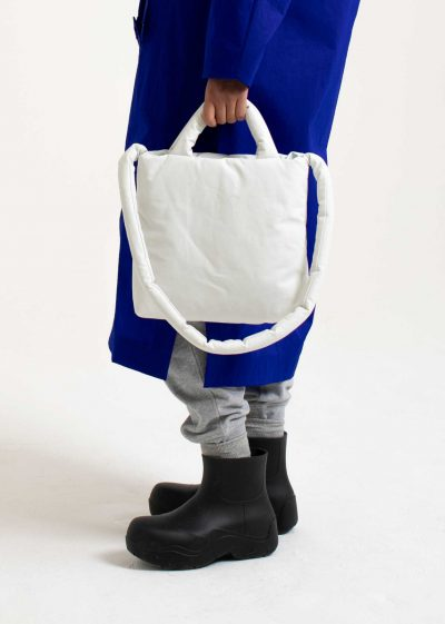Pillow bag S in oil white by KASSL editions