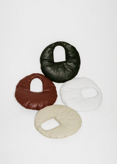 Medium Oil Circle Bag (4 colors) by KASSL editions