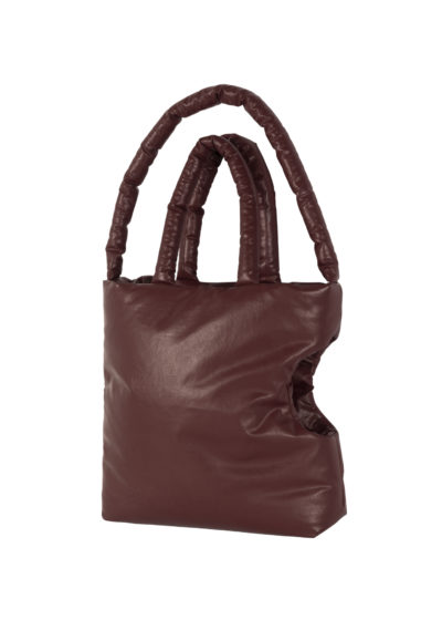 Oil Dog bag Medium in Bordeaux by KASSL editions