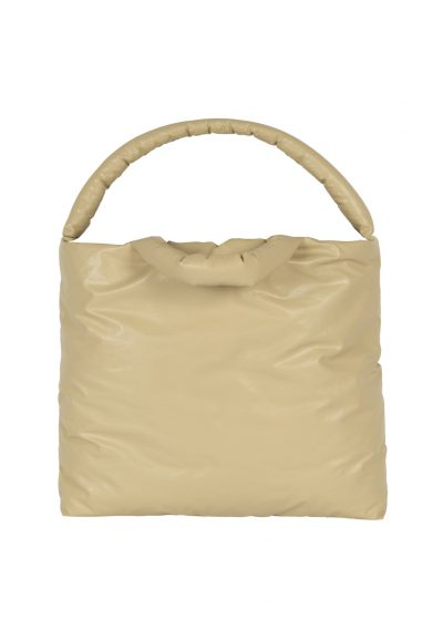 Pillow bag L in oil sand by KASSL editions