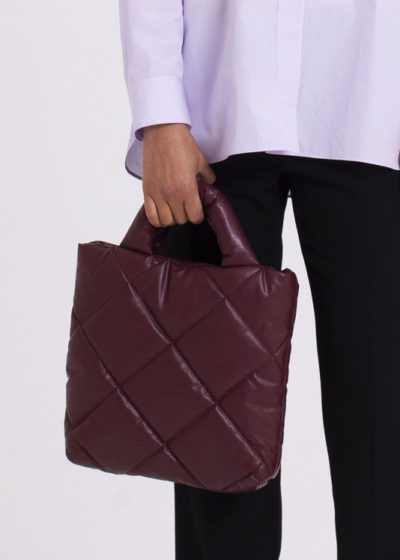 Quilted Bag Bordeaux Small by KASSL editions