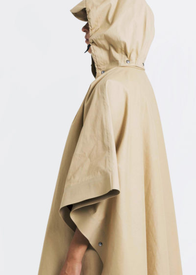 Coat Cape Poncho Trench Beige by KASSL editions