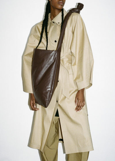 Coat Kimono Below Trench Beige by KASSL editions