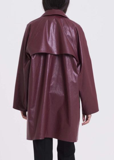 Coat Original Above Oil Bordeaux by KASSL editions