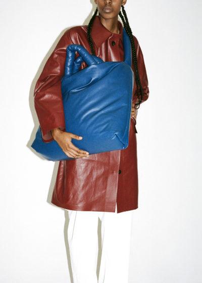 Kassl Editions Hs21 Coat Original Above Oil Bordeaux Bag Pillow Large Oil Navykopie
