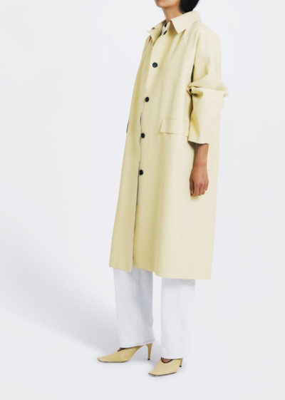 Coat Original Below Rubber Custard by KASSL editions
