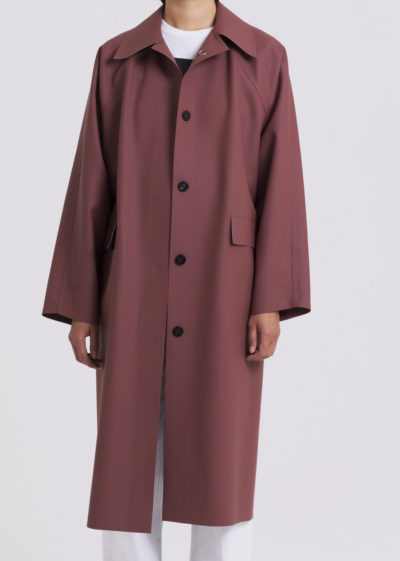 Coat Original Below Rubber Red Clay by KASSL editions