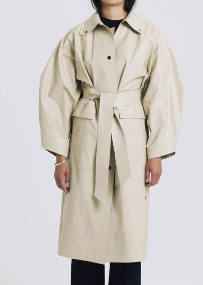 Coat Kimono Below Oil Sand by KASSL editions