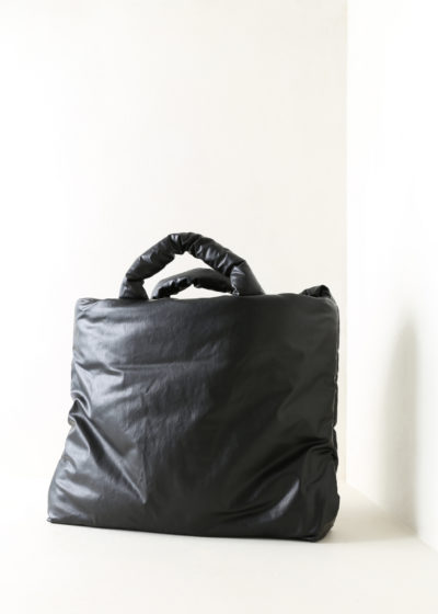 Large oil-coated Pillow Bag (available in 6 colors) by KASSL editions