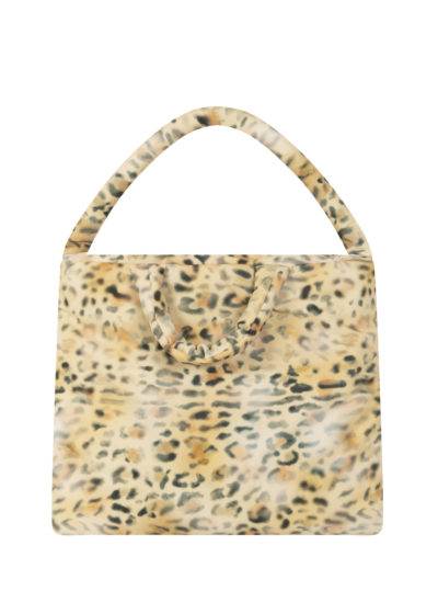 Pillow Bag L in leopard by KASSL editions