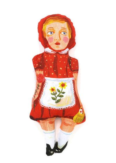 'Little red' doll by Nathalie Lété x Design Farm Productions