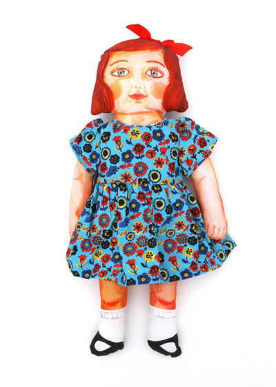 Large 'Lyly' doll by Nathalie Lété x Design Farm Productions