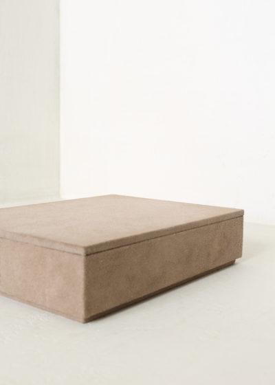 Suede letterbox by Michaël Verheyden