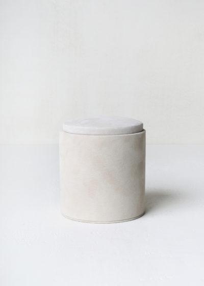 Suede 'Doblo' box by Michaël Verheyden