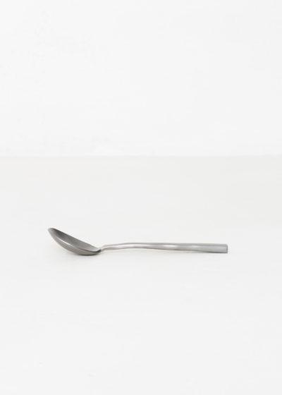 Coffee spoon black brushed by Maarten Baas for valerie_objects