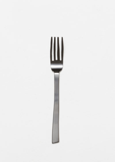 Table fork black brushed by Maarten Baas for valerie_objects