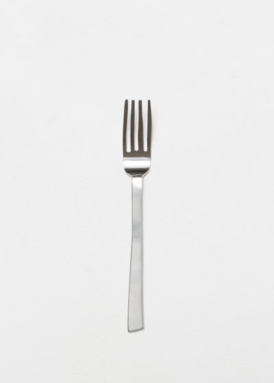 Table fork brushed stainless by Maarten Baas for valerie_objects