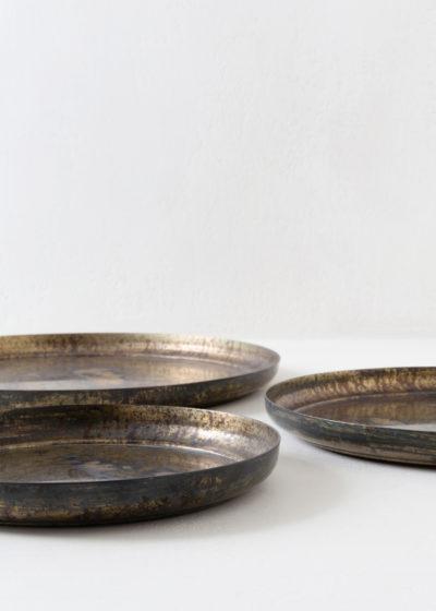 Set of 3 serving trays by Michaël Verheyden