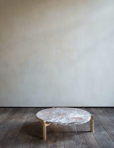 Marble Tube table by Michaël Verheyden