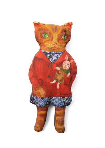 'Mimi the cat' doll by Nathalie Lété x Design Farm Productions