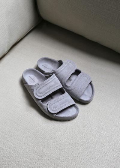 'The Mudlark' sandals (grey suede) by Toogood