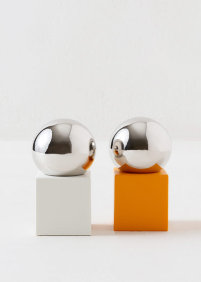 Salt & pepper mill by Muller van Severen for valerie_objects