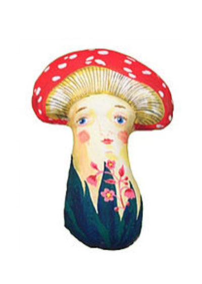 Mushroom doll by Nathalie Lété x Design Farm Productions