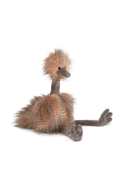 Odette the really big ostrich by Jellycat