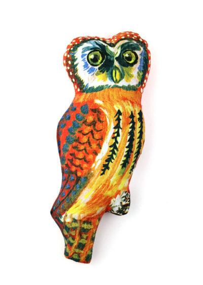 Owl doll by Nathalie Lété x Design Farm Productions