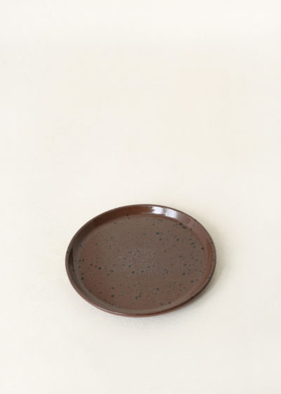 Small 'YANN' plate by Around Oskar